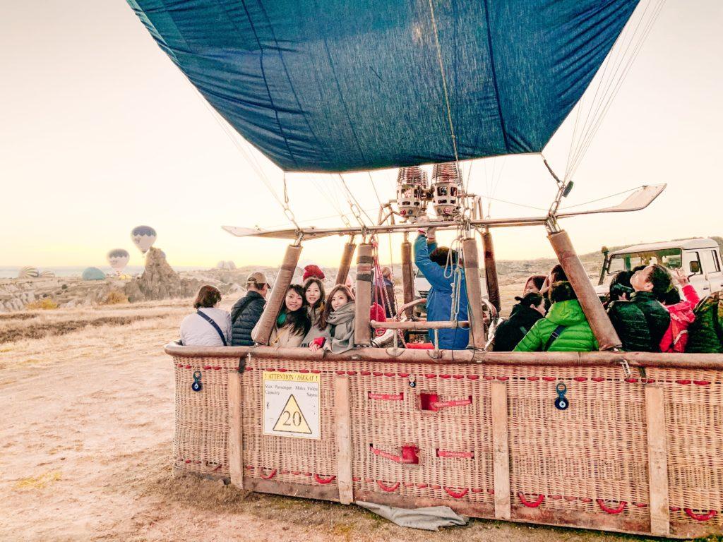 卡帕多西亞熱氣球