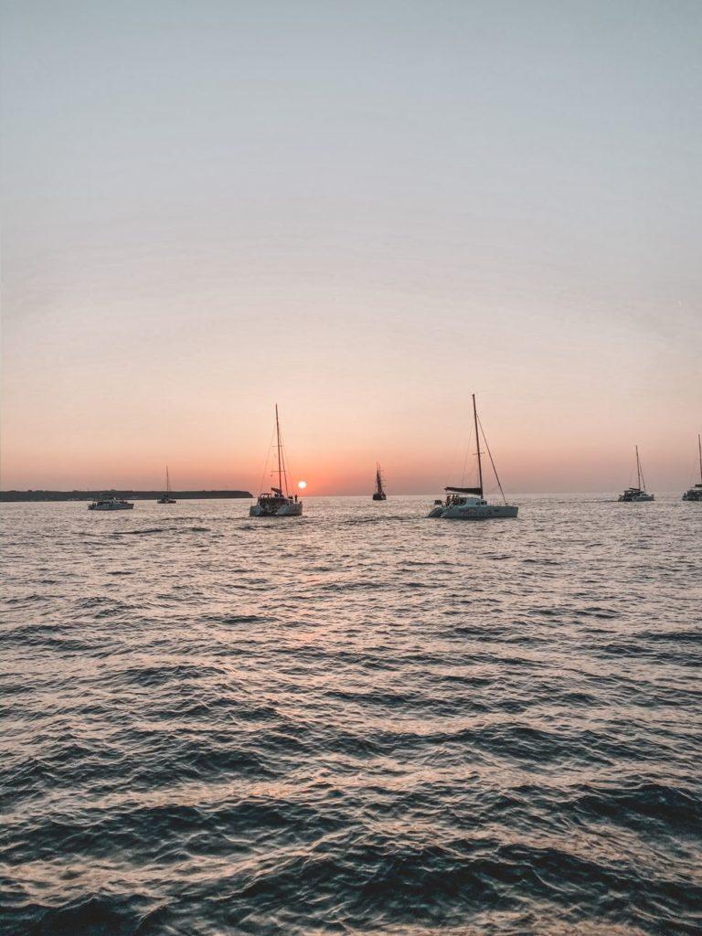 聖托里尼夕陽