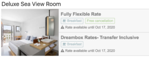 dreambox room type