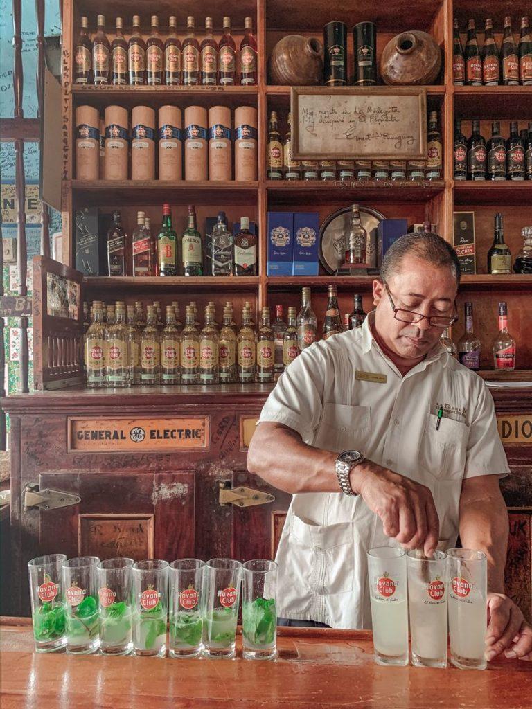 海明威最愛的酒吧