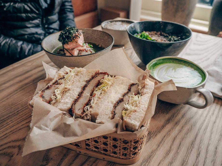 炸豬排三明治